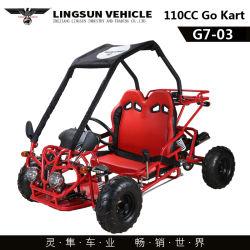 G7-03 Gas aangedreven 110cc Go-Kart Bune Buggy