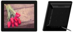 مشغل فيديو LCD مزود بتقنية WiFi مقاس 15.6 بوصة بنظام Android ومشغل إعلانات USB SD إطار صور رقمي للصور من البطاقة عالية الدقة مع بطارية