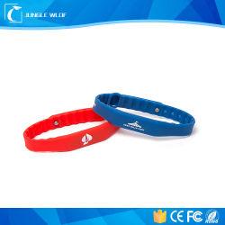 Commerce de gros écologique 125kHz bracelet RFID en silicone pour le contrôle des accès