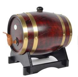 Naturellement le baril de bière en bois de chêne, artisanat artisanal en bois