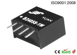 3V/3.3V/5V/12V/24V Fixed Input RS485 RS232 Can Interface Unregulated Single Output Isolation DC-DC Converter SIP Module IS