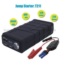 Salto de coche portátil Mini batería de arranque Booster 10000mAh