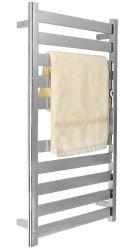 Serviette en acier inoxydable Radiatiors Tubes plat, sèche serviettes