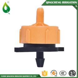Irrigation par égouttement filetée réglable bon marché de l'eau de dispositif d'écoulement