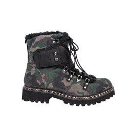 가죽 신발은 시동 여자 겨울 시동 여자 단화를 방수 처리한다