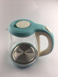 Зеленый цвет стекла чайник с электронным управлением с прочного материала 1,8 л