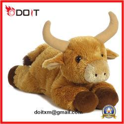 Vache jouet en peluche Buffalo un jouet en peluche de conception de dessins animés
