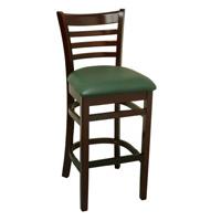W245b 최대 대중적인 의자 나무와 가죽 바 의자