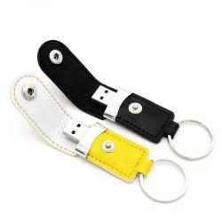Металлический диск из натуральной кожи цепочки ключей флэш-накопитель USB 8 ГБ коммерческих Usn Flash памяти Memory Stick™