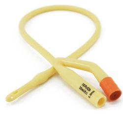 De beschikbare Catheter van de Ballon van Foley van het Latex voor Met een laag bedekt Silicone