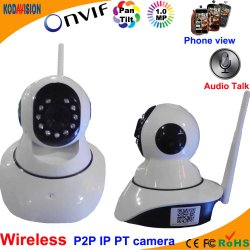 Wireless 720p IP Pan Tilt WiFi cámaras P2P.