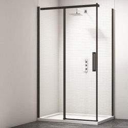 Puerta corredera de cristal templado Gabinete de cabinas de ducha