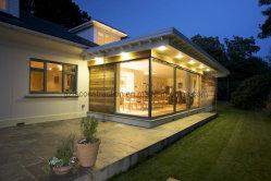 Алюминиевые раздвижные двери с двойными стеклами стекла