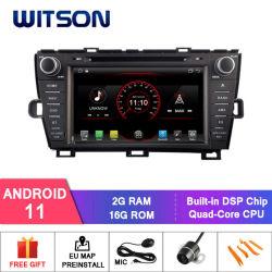 Lettore DVD per auto Witson Quad-Core Android 11 per Toyota Prius Memoria RAM 2g 16 GB ROM multimediale per veicoli