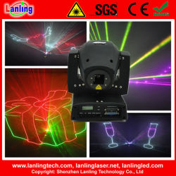 Animation Moving-Head 450MW Mini Laser DMX d'éclairage