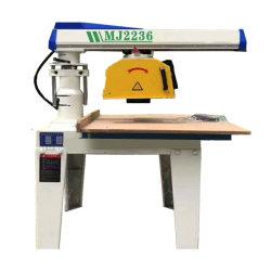 De houten Trekkracht van de Hand zag de Hand In werking gestelde Snijder van de Machine/Scherpe Machine het Wapen van de Omwenteling van 360 Graad