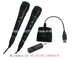 Adaptateur audio USB avec microphone pour PS2/PS3/Wii/Xbox360/l'accessoire de jeu de PC (SP5519)