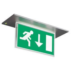 Segni dell'uscita di sicurezza del LED