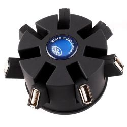 Prend en charge Plug-and-Play de la fonction 7-port hub USB