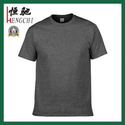 Calidad personalizada algodón cuello redondo Camiseta para hombres