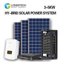 Kommerzielle photo-voltaische Wohnhauptsolarinstallation des Energie-Panel-Systems-DIY