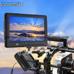 """Panel IPS Vista Dual Monitor de campo de la Cámara de 10,1"""" con entrada SDI"""