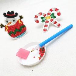다이아몬드 색칠 원석 예술 아이 DIY 창조적인 Eductional 크리스마스 기술