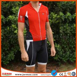 Homme d'usure de la publicité à la mode sports cyclisme Jersey