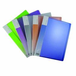 Livro de exibição de pastas de Papelaria Livro clara com bolso interior