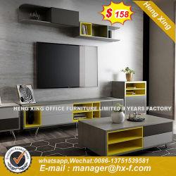 Un mobilier moderne avec le nouveau châssis et de télévision multifonction le Cabinet a fait de bois coloré (HX-8E9201)