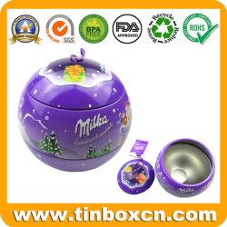 عيد ميلاد المسيح كرة قصدير مع خيط لأنّ معدن [جفت بوإكس] يعبّئ