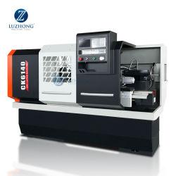CK6140 Precision Cama plana horizontal torno mecânico CNC Automático de metal com o preço