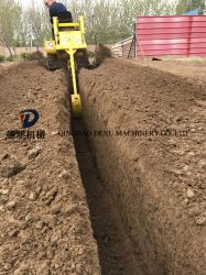 Zanjadora agrícola La agricultura de la máquina de excavación de la máquina de zanjeo Consturction