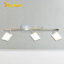 에너지 절약 램프 백색 까만 북유럽 작풍 자연적인 온난한 백색 유리제 은 금속 LED 교체 스포트라이트 반점 빛