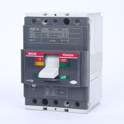 Kampa CB Ce certifié T5-400 MCCB réglable 3pole 400un disjoncteur boîtier moulé