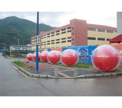 Ihb211 Rode Kleurendruk Fabriek Gemaakte MOQ 1PC Aangepaste Hoogste Kwaliteit de Commerciële Grote Opblaasbare ballon van de Lucht voor Verkoop