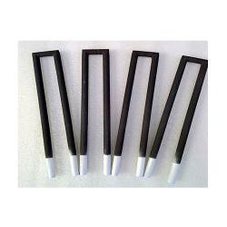 1300c de temperatura alta U tipo haltere moldar o carboneto de silício a Sic Termoelementos
