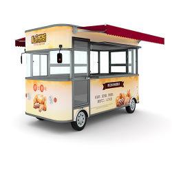 De de multifunctionele Klantgerichte Aanhangwagen van de Keuken van het Snelle Voedsel Mobiele/Auto van de Snack/de Elektrische Vrachtwagen van het Voedsel