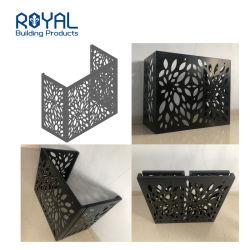 Corte a Laser decorativos painéis de alumínio paralela de folha de metal perfurada