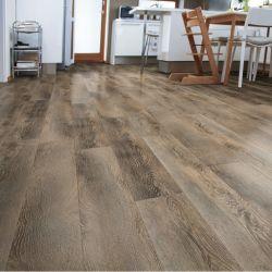 価格のDecoの安い床プラスチックSpcのフロアーリングの装飾のビニールの床タイル