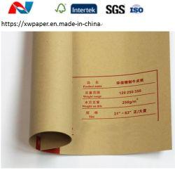 Kraft marrom Placa de revestimento de papel para caixa de papelão