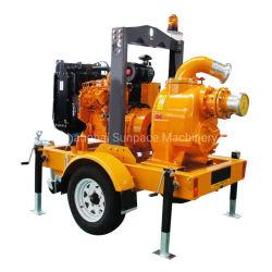 8 Zoll-selbstansaugende Dieselmotor-Schleuderpumpe, Hochwasserschutz-Pumpe, Abfall-Pumpe, Entwässerung-Pumpe, Feuerbekämpfung-Pumpe, Bewässerung-Pumpe, Dieselwasser-Pumpe