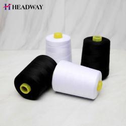 100 % polyester tissée de fils à coudre ne 62/3 Semi terne de la qualité de TFO.