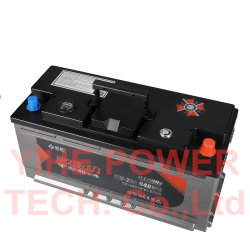 12V Start Stop de la batterie au lithium-voiture 110AH 110-20L