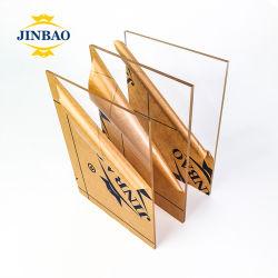 Lámina de acrílico blanco mate Jinbao Serigrafía en lámina de acrílico acrílico transparente hoja para mostrar