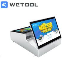 14pouces écran tactile double OS tout en un système de vente au détail pour magasin POS Restaurant