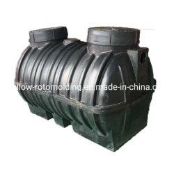 O tanque séptico preto para as águas residuais