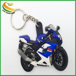 Bicicletta Morbida In Pvc Custom Plastic Coated Chain Personalizzata Bulk Cheap Your Own Logo Key Soft Pvc