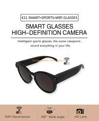 155 градусов широкий Angel 1080P K11 Smart спорта DV WiFi скрытые очки камеры