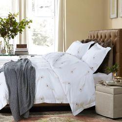 Jr006新しいデザインクイーンサイズの4 PCSカスタム綿は寝具セットを印刷した